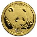 2018 China 1 gram Gold Panda BU (Sealed)