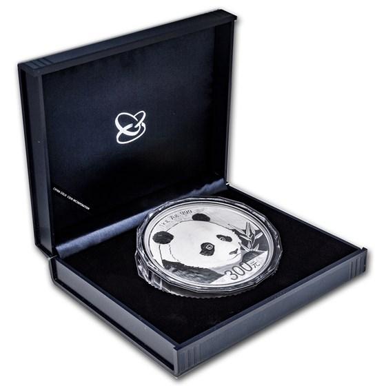2018 China 1 kilo Silver Panda Proof (w/Box & COA)