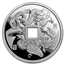 2018 China 1 oz Silver Proof Dragon & Phoenix Cash Coin