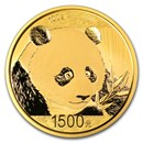 2018 China 100 gram Gold Panda Proof (w/Box & COA)