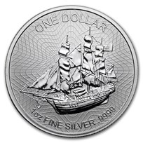2018 Cook Islands 1 oz Silver Bounty Coin