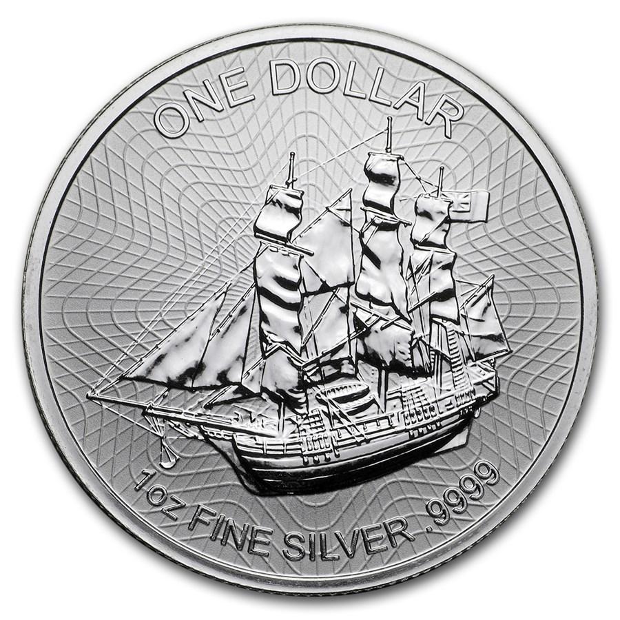 2018 Cook Islands 1 oz Silver Bounty Coin