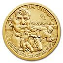 2018-D Native Amer $1 - Jim Thorpe BU