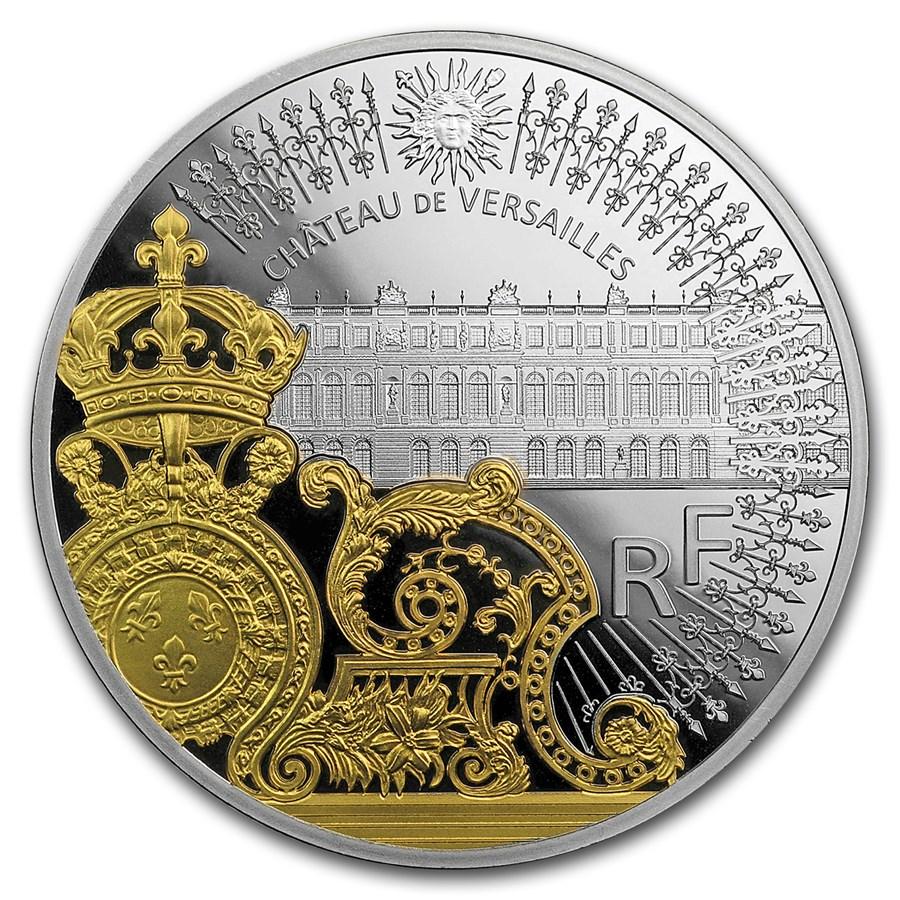 2018 France Prf Silver €10 Treasures of Paris: Gate of Versailles