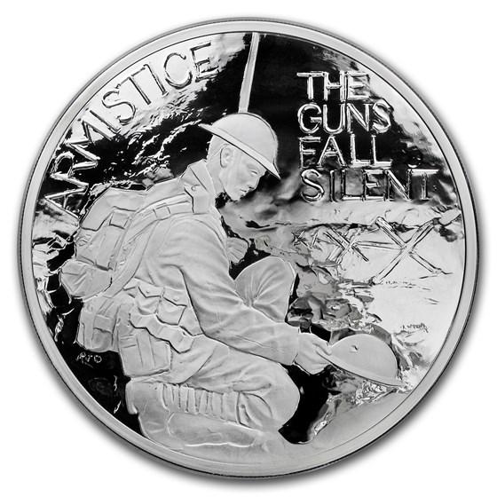2018 GB 1 kilo Silver 100th Anniv First World War Armistice Proof