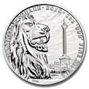 2018 GB 1 oz Silver Landmarks of Britain (Trafalgar Square)