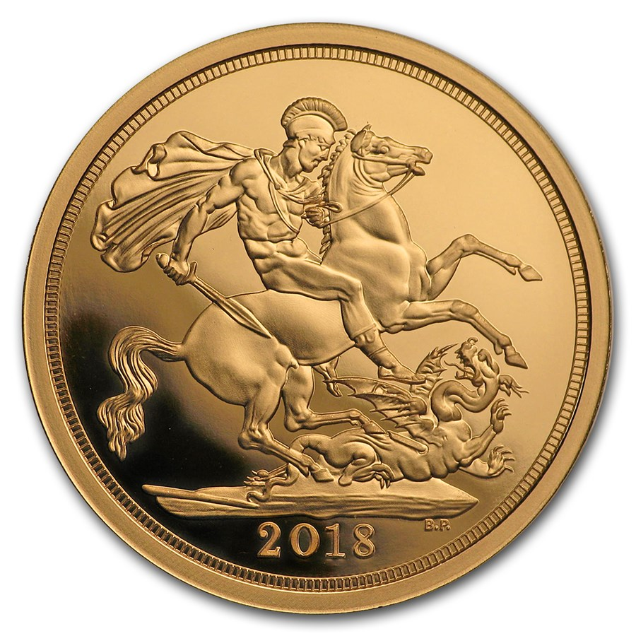 2018 GB Gold Celebration Sovereign - Prince George 5th Birthday