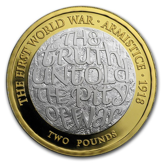 2018 GB Silver 100th Anniv First World War Armistice Proof