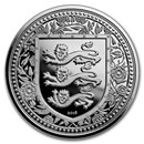 2018 Gibraltar 1 oz Silver Royal Arms of England BU