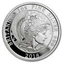 2018 Great Britain 1 oz Proof Silver Britannia