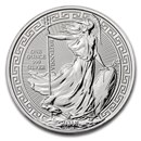 2018 Great Britain 1 oz Silver Britannia Oriental Border