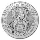 2018 Great Britain 10 oz Silver Queen's Beasts The Griffin