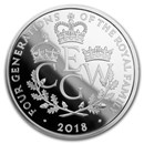 2018 Great Britain £5 Proof Silver Four Generations