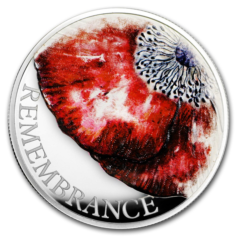 2018 Great Britain £5 Silver Remembrance Day Proof