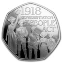 2018 Great Britain 50p Proof Silver Representation of the People