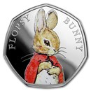 2018 Great Britain Silver 50p Beatrix Potter Proof (Flopsy Bunny)