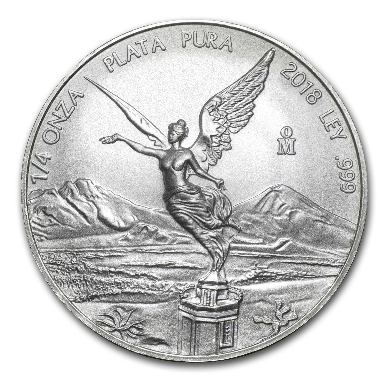2018 1//4 oz Mexico Silver Libertad Coin BU