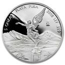 2018 Mexico 5 oz Silver Libertad Proof (In Capsule)