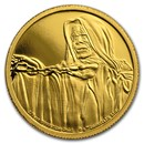 2018 Niue 1/4 oz Gold Star Wars Emperor Palpatine (Box & COA)