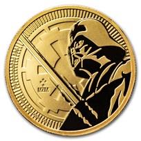 2018 Niue 1 oz Gold $250 Star Wars: Darth Vader Lightsaber BU