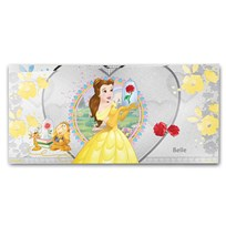 2018 Niue 5 gram Silver $1 Note Disney Princess Belle