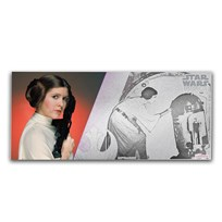 2018 Niue 5 gram Silver $1 Note Star Wars Princess Leia