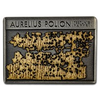 2018 Niue Silver $1 Aurelius Polion Tebtunis Papyri BU Coin