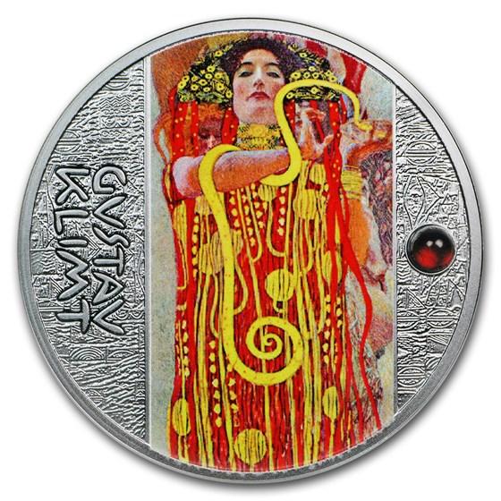 2018 Niue Silver Gustav Klimt Golden Five (Medicine)