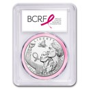 2018-P Breast Cancer Awareness $1 Silver PR-70 PCGS
