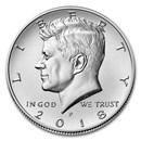2018-P Kennedy Half Dollar BU