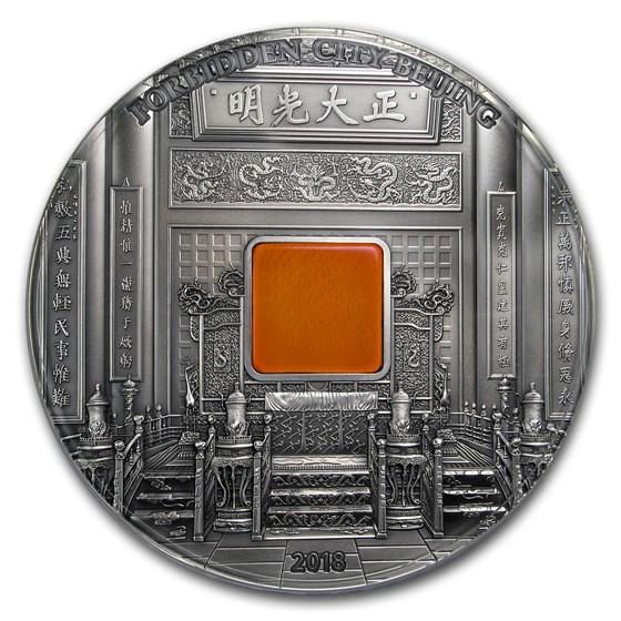 2018 Palau 1 kilo Silver Forbidden City Beijing