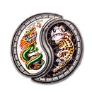 2018 RCM 1/2 oz Ag $10 Yin & Yang: Tiger & Dragon (Damaged)