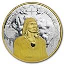 2018 RCM 1 oz Ag $25 Piedfort 250th Anniv of Tecumseh's Birth
