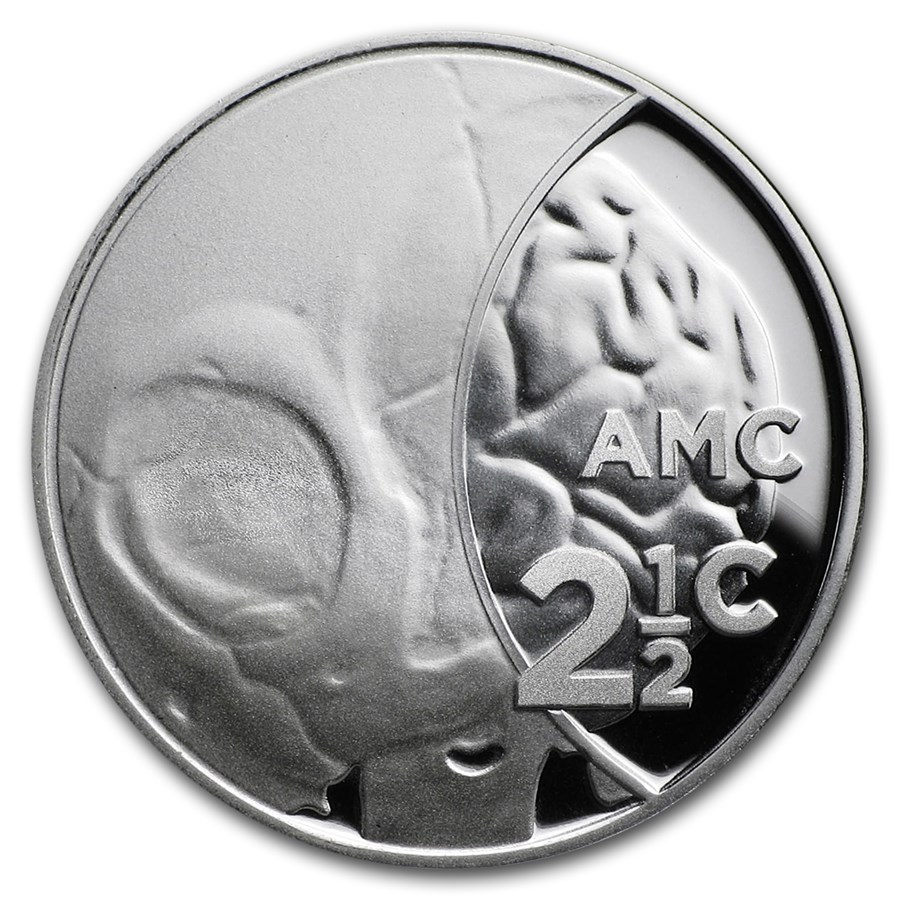 2018 S. Africa Silver Proof South African Inventions-CT Scan