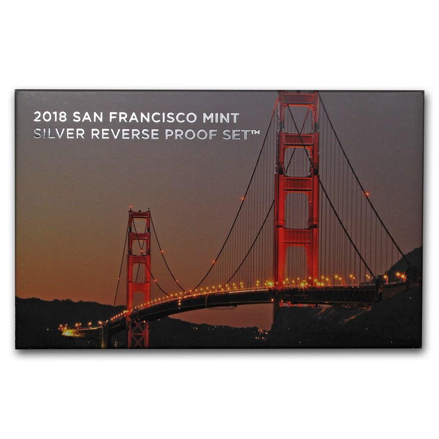 2018-S Silver Reverse Proof Set