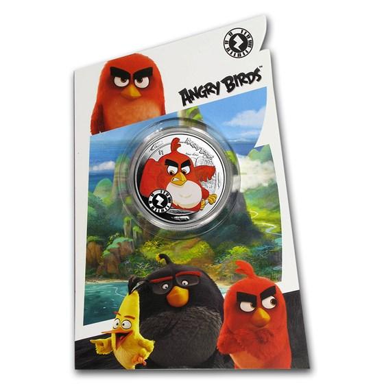 2018 Sierra Leone Cupro-Nickel $1 Angry Birds™ Red