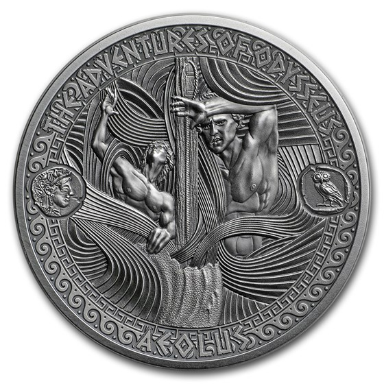 2018 Solomon Isl. Antique Silver Adventures of Odysseus Aeolus