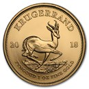 2018 South Africa 1 oz Gold Krugerrand BU