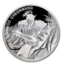 2018 South Korea 1 oz Silver 1 Clay Chiwoo Cheonwang Proof