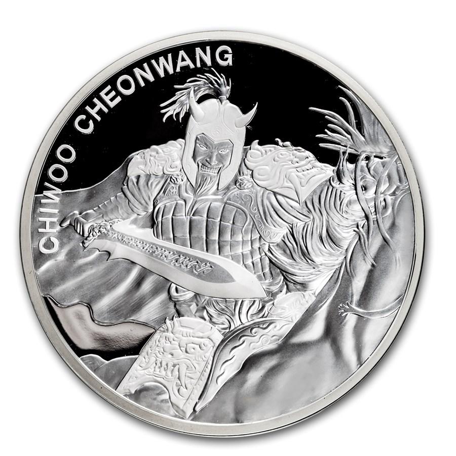 2018 South Korea 1 oz Silver 1 Clay Chiwoo Cheonwang Proof