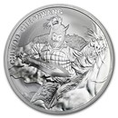 2018 South Korea 1 oz Silver Chiwoo Cheonwang BU