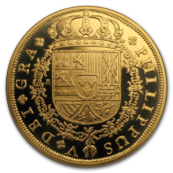 2018 Spain Proof Gold €400 150th Anniversary Spanish Escudos