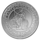 2018 St. Helena 1 oz Silver British Trade Dollar Restrike (BU)
