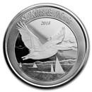 2018 St. Kitts & Nevis 1 oz Silver Pelican BU