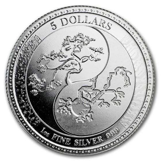 2018 Tokelau 1 oz Silver $5 Equilibrium
