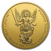 2018 Ukraine 1 oz Gold Archangel Michael BU