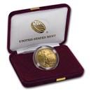 2018-W 1/2 oz Proof American Gold Eagle (w/Box & COA)