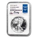 2018-W Proof American Silver Eagle PF-70 NGC (Moy Label)