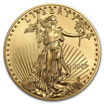 2019 1/10 oz American Gold Eagle BU