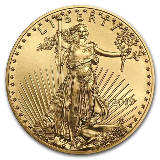 2019 1/10 oz American Gold Eagle BU